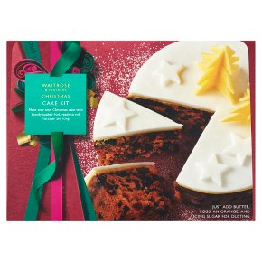 Waitrose Christmas Cake Kit