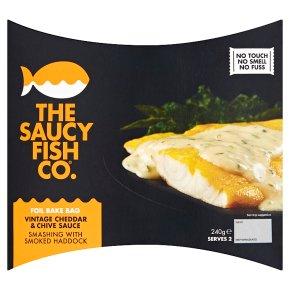 The Saucy Fish Co. Smoked Haddock Vintage Cheddar