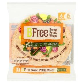 BFree Sweet Potato Wraps