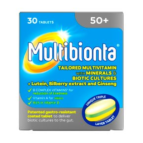 Multibionta 50+ Tablets
