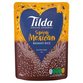 Tilda Spicy Mexican Steamed Basmati Rice