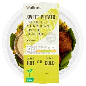 GOOD TO GO Sweet Potato Falafel & Spiced Couscous