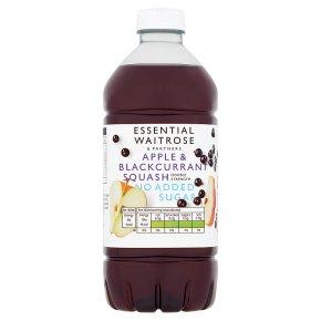 essential Waitrose apple & blackcurrant squash