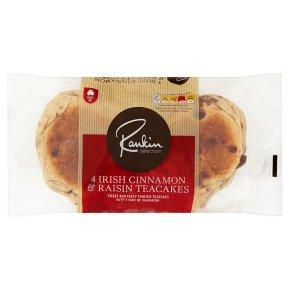 Rankin Selection 4 Irish Cinnamon & Raisin Teacakes