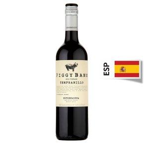 Piggy Bank Tempranillo Extremadura, Spainish, Red Wine