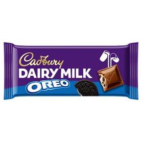 Cadbury Dairy Milk with Oreo chocolate bar