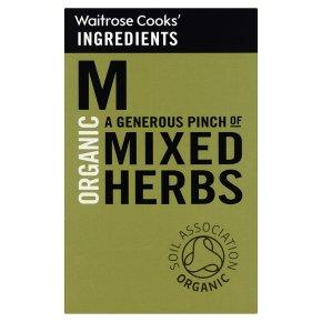 Waitrose Cooks' Ingredients organic mixed herbs