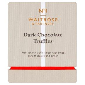 Waitrose 1 Dark Chocolate Truffles