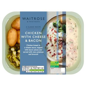 Waitrose chicken with cheese and bacon