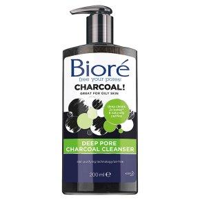 Biore Charcoal Deep Pore Cleanser