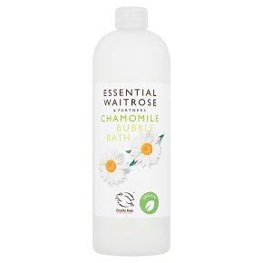 essential Waitrose Chamomile Bath