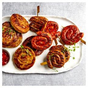 Vegan Burger & Whirl Selection, 12 pieces