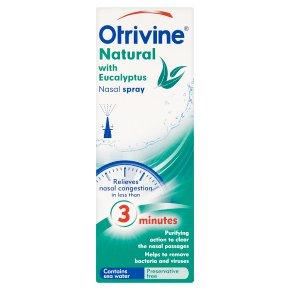 Otrivine Natural Nasal Spray