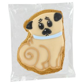 Original Biscuit Bakers Iced Gingerbread Tallulah the Pug