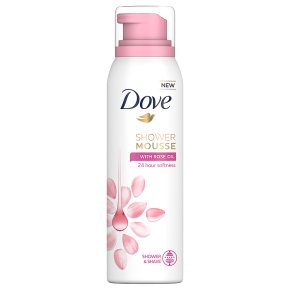 Dove Shower Mousse Rose Oil