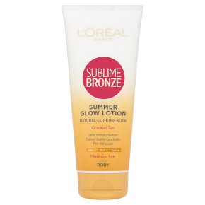 Sublime Bronze Summer Glow Lotion