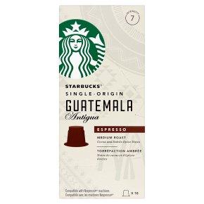 Starbucks Guatemala Antigua Espresso Capsules