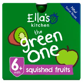 Ella's Kitchen Organic smoothie fruit the Green One baby food