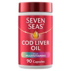 Seven Seas Timeless Oil & Multivitamins