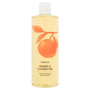 Waitrose Bath Foam Ginger & Clementine