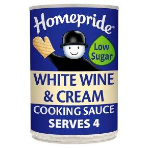 Homepride wine cooking sauce