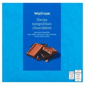 Waitrose Swiss Neapolitans Chocolates