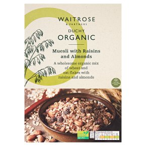 Waitrose Duchy Muesli with Raisins & Almonds