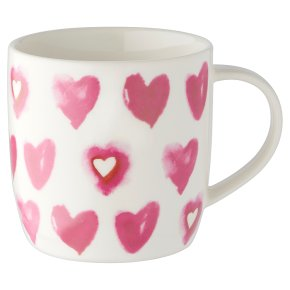 Waitrose Heart All Over Mug