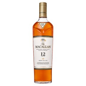 Macallan 12 Year Old Sherry Oak Scotch Whisky