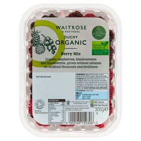Waitrose Duchy Organic berry mix