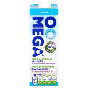 OOO Mega Plantbased Flax Drink