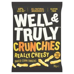 Well & Truly Crunchy Really Cheesy