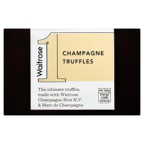 Waitrose 1 Champagne Truffles