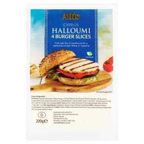 Attis Halloumi 4 Burger Slices