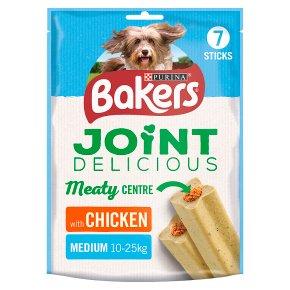 Bakers Joint Delicious Medium Dog Treats Chicken