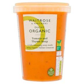 Waitrose DUCHY tomato & thyme soup