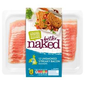 Finnebrogue Naked Unsmoked Streaky Bacon