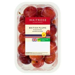 Waitrose British plums