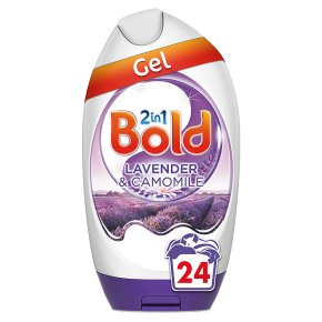 Bold 2in1 Lavender & Camomile Washing Gel 24 washes