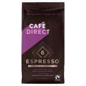 Cafédirect Espresso Ground Coffee