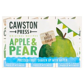 Cawston Press kids' blend apple & pear
