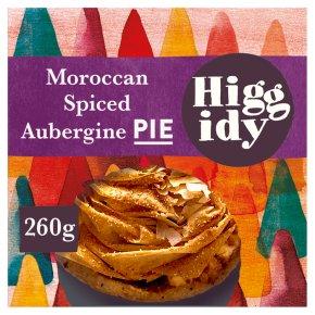 Higgidy Moroccan Spiced Aubergine Pie