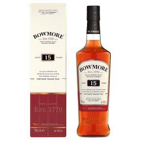 Bowmore Islay Single Malt 15 Years Old