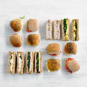 Finger Sandwich & Mini Roll Platter - mixed