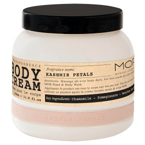 MOR Body Cream Kashmir Petals