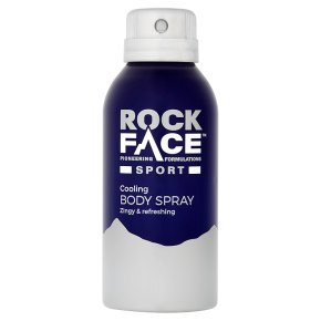 Rock Face Sport Body Spray