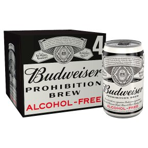 Budweiser Prohibition Alcohol Free USA