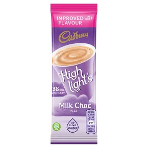 Cadbury Highlights milk chocolate sachet