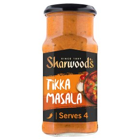 Sharwood's tikka masala