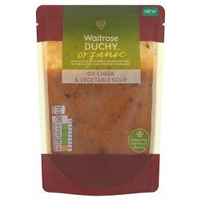 Waitrose Duchy Organic Ox cheek & vegetable soup